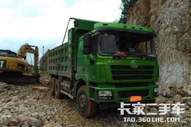 二手卡车自卸车  陕汽重卡 385马力