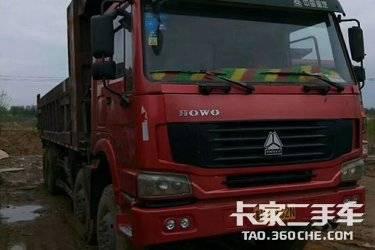 二手自卸车 重汽豪沃(HOWO) 375马力图片