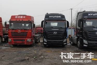 二手牵引车 四川现代 440马力图片