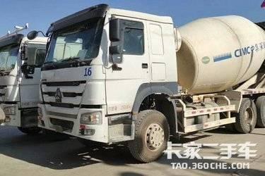 二手搅拌车 中国重汽 336马力图片
