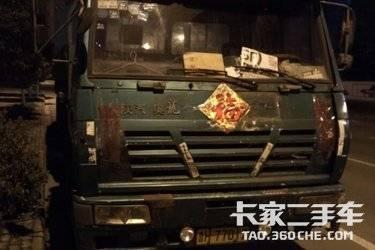 二手卡车 陕汽奥龙 280马力主车+13米标箱一套打包价格