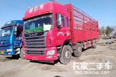 二手载货车 江淮格尔发 300马力图片