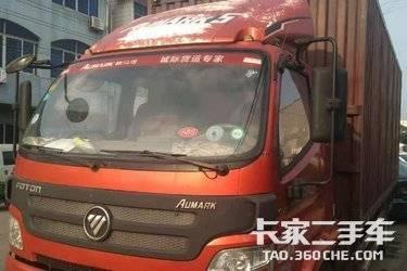 二手载货车 福田欧马可 170马力图片