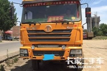 自卸車 陜汽重卡 375 馬力