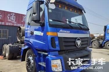 二手牽引車 福田歐曼 LNG ETX 380馬力國五排放雙驅輕體