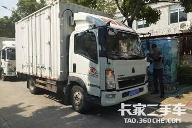 二手载货车 重汽HOWO轻卡 128马力图片