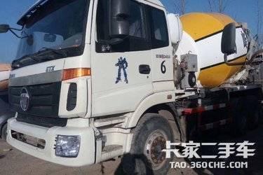 二手搅拌车 福田欧曼 340马力图片