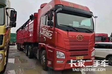 二手载货车 青岛解放 500马力图片