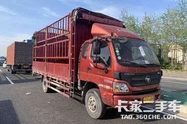 二手载货车 福田欧马可 156马力图片