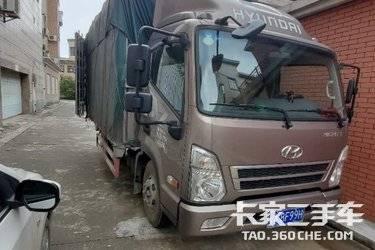二手载货车 四川现代 131马力图片