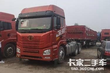 二手卡车二手牵引车 青岛解放JH6牵引车头半挂车 国五排放 潍柴发动机 400马力