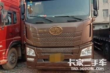 二手载货车 青岛解放 420马力图片