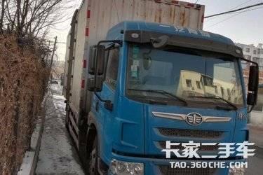 二手载货车 青岛解放 164马力图片