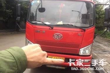 二手载货车 一汽解放轻卡 154马力图片