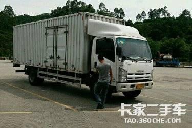 二手载货车 庆铃 140马力图片