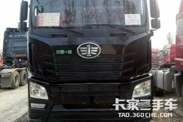 出售二手国五排放,解放JH6,双驱轻体,牵引车 青岛解放 460马力