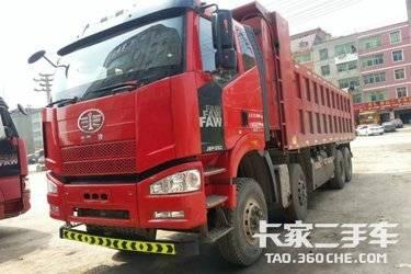 二手卡车自卸车  一汽解放 350马力