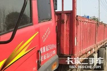 二手载货车 青岛解放 2100马力图片
