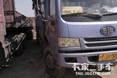 二手载货车 青岛解放 190马力图片