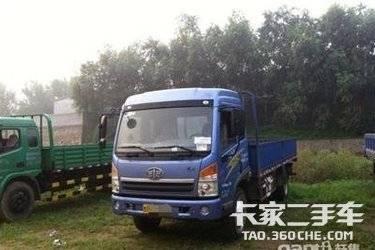二手载货车 青岛解放 140马力图片