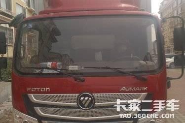 二手载货车 福田欧马可 370马力图片