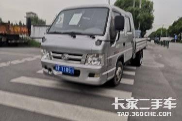 二手载货车 福田时代 98马力图片