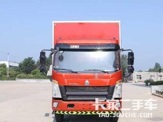 二手载货车 中国重汽 1马力图片