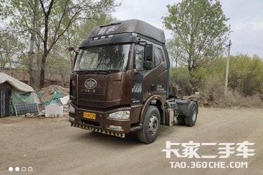 二手卡车牵引车 青岛解放 350 马力