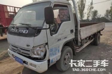 二手卡车载货车  福田时代 110马力