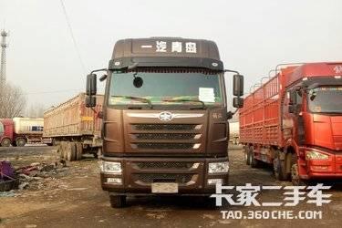 二手卡车出售18年8月青岛解放途V,载货车, 国五排放,350马力