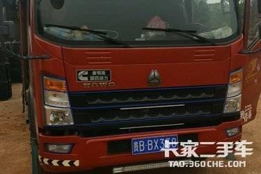 二手载货车 重汽HOWO轻卡 154马力图片