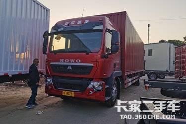二手载货车 重汽豪沃(HOWO) 240马力图片