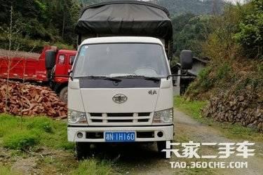 二手载货车 一汽红塔 107马力图片