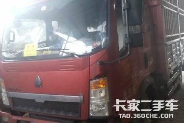 二手卡车载货车  重汽HOWO轻卡 171马力