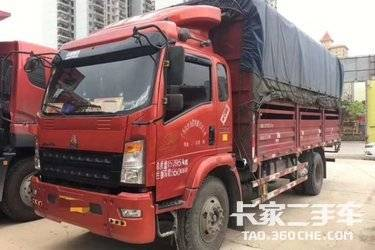 二手载货车 重汽HOWO轻卡 180马力图片