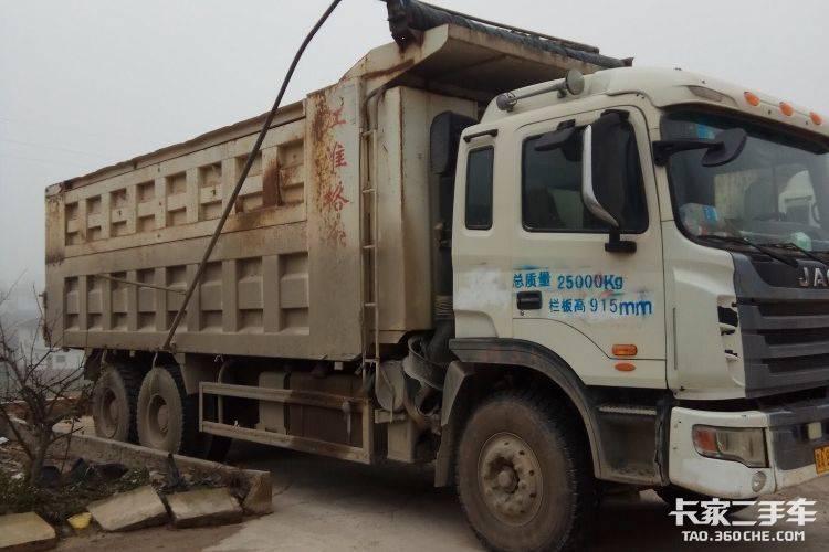 江淮格尔发 340马力 载货车