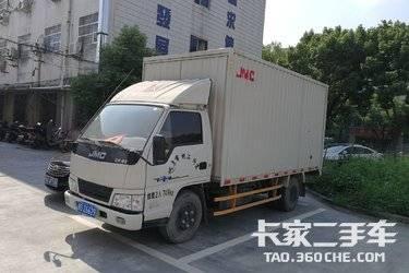 二手载货车 江铃汽车 120马力图片