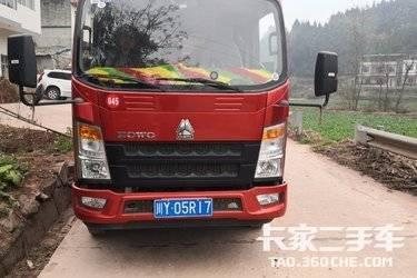 二手载货车 重汽HOWO轻卡 145马力图片