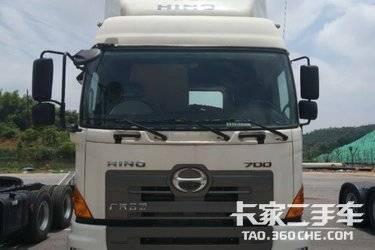 二手卡车牵引车  广汽日野 420马力