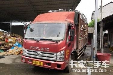二手载货车 福田商务车 140马力图片
