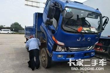 二手自卸车 江淮骏铃 129马力图片