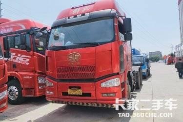 二手卡车出售双驱牵引车  460马力