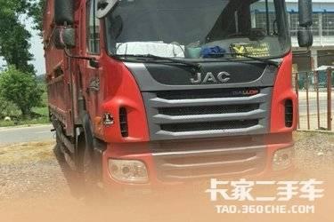 二手卡车载货车  江淮格尔发 160马力