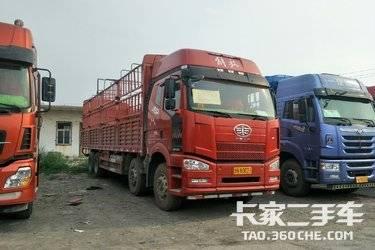 二手载货车 一汽解放 350马力图片