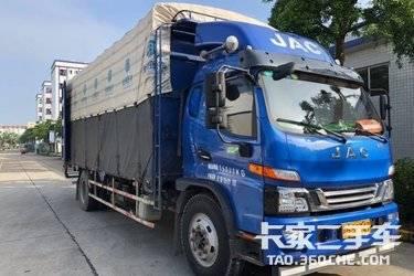 二手载货车 江淮骏铃 170马力图片