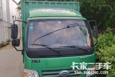二手载货车 开瑞绿卡 110马力图片
