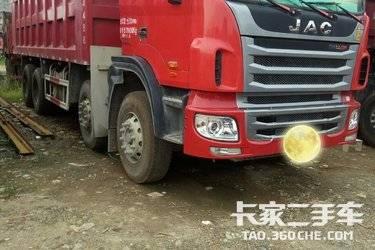 二手自卸车 江淮工程车 340马力图片