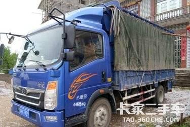 二手载货车 重汽豪曼 112马力图片