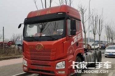 二手卡车牵引车 青岛解放 420 马力