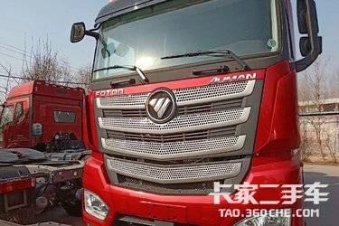 二手卡车库存新车福田欧曼 ,510马力,双驱轻体,国五。